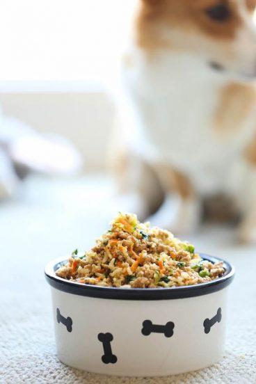 Como hacer comida casera para perros