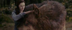 bella con lobo