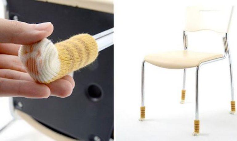 Calcetines de gato para muebles