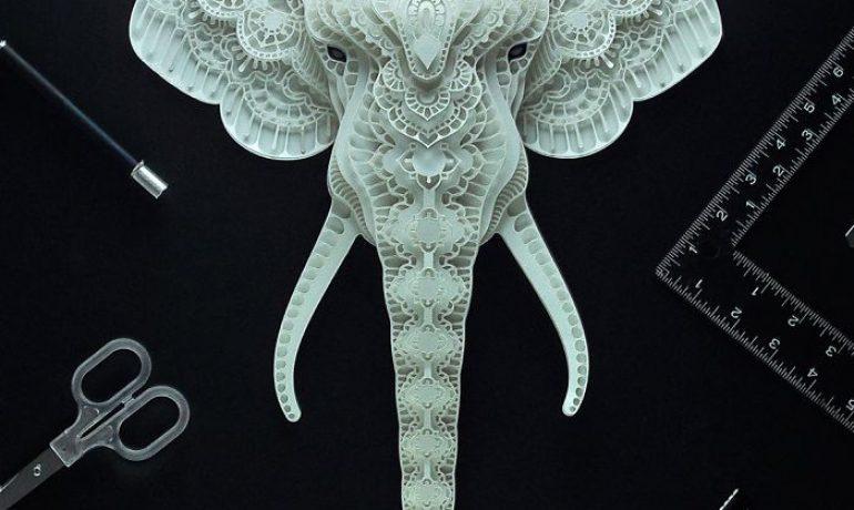 Obras de arte para los animales en peligro de extinción