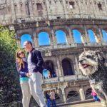 Esta pareja se llevó a su perro de viaje y se convirtió en el protagonista de sus fotos