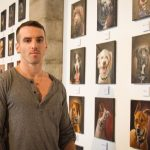 stephen gallagher retratos de perros