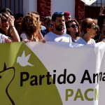 Miles de personas en la manifestación antitaurina de PACMA