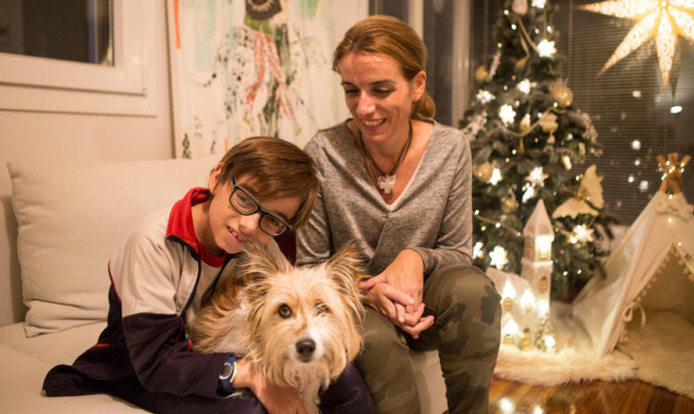 Conoce la verdadera historia del perro de la lotería de Navidad