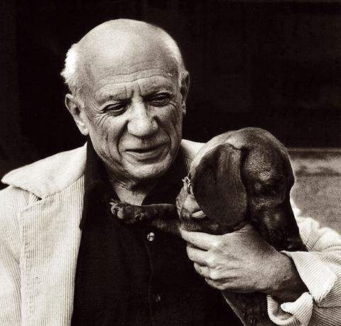 Pablo Picasso y Lump