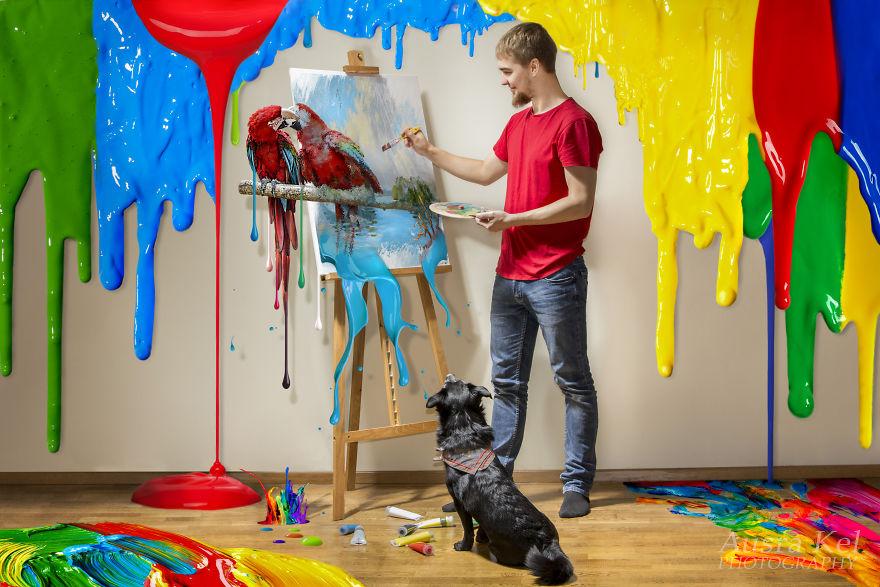 Bourne y su fascinación por el color