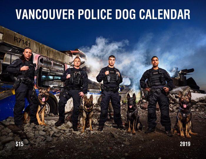 calendario policia vancouver