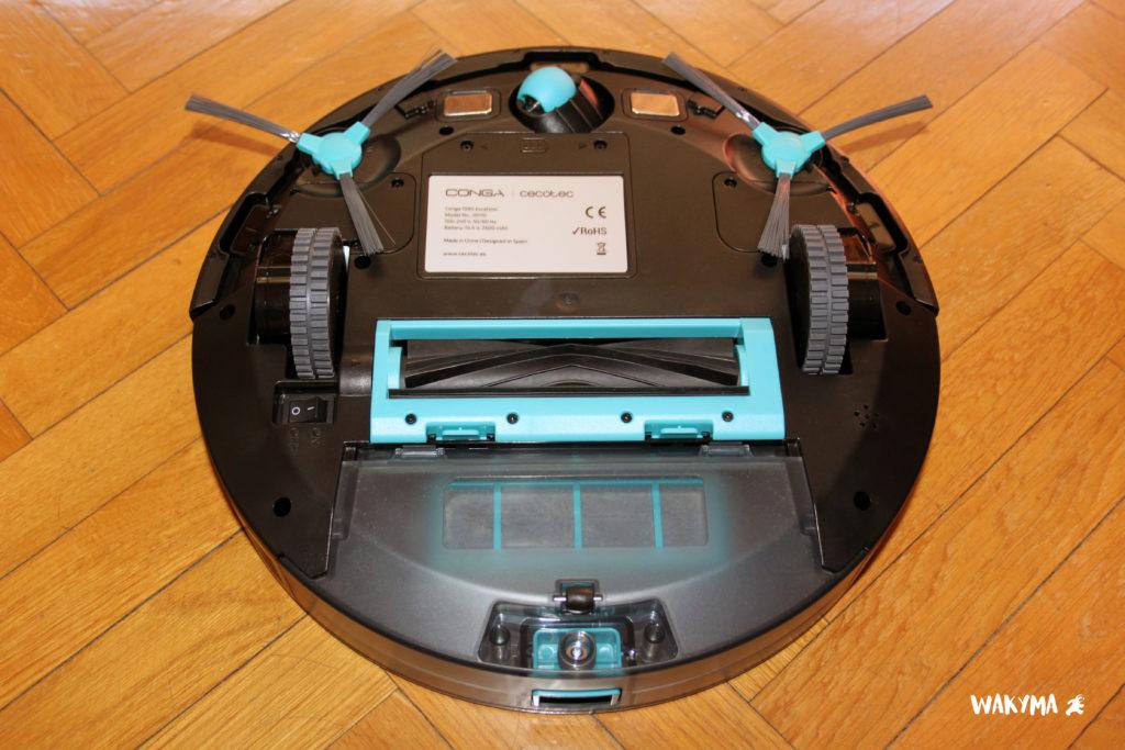 robot aspirador para mascotas conga serie 1090