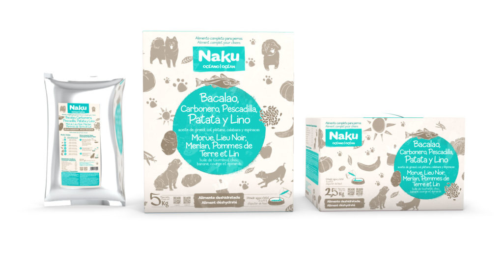 Naku océano alimento para perros con sobrepeso