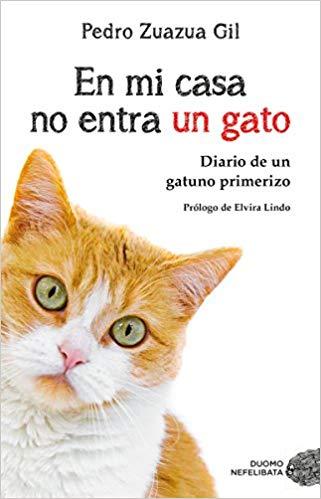 Libros de mascotas en mi casa no entra un gato