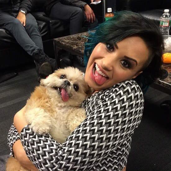 Marnie con Demi Lovato