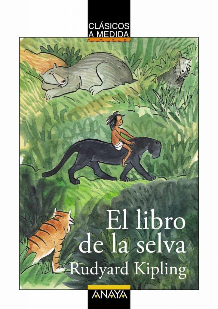 Libros con animales - El libro de la selva de Rudyard Kipling