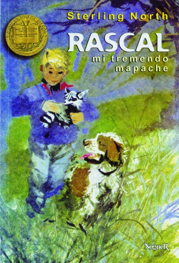 Libros con mascotas - Rascal, mi tremendo mapache de Sterling North